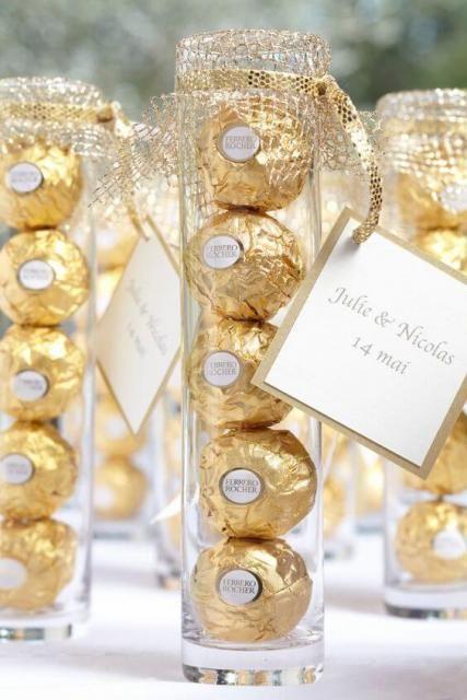 bodas de ouro - lembrancinha de festas
