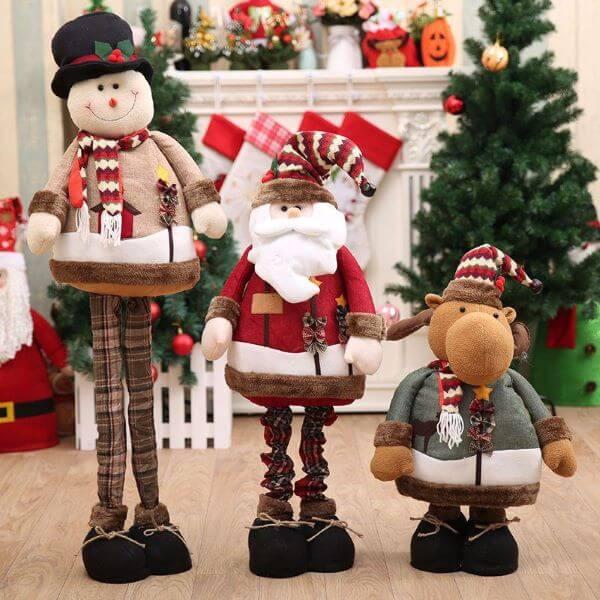Bonecos de natal para decoração