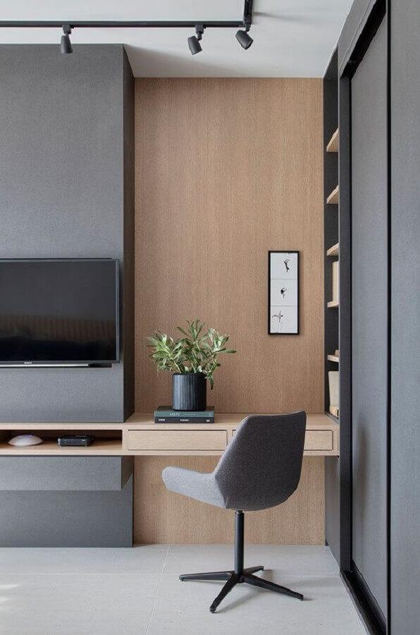 cadeira decorativa giratória para sala moderna Foto Casa de Valentina