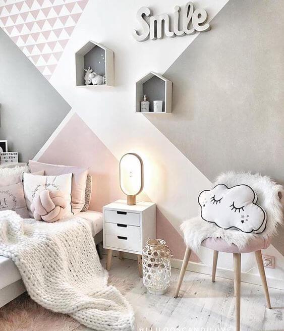 Cadeira para quarto decorativo