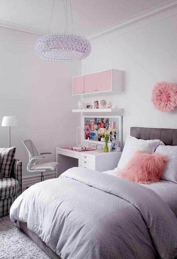 Cadeira para escrivaninha de quarto moderno