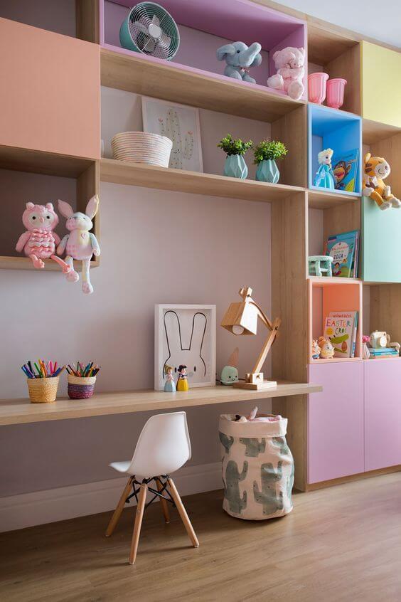 Cadeira para quarto infantil pequena