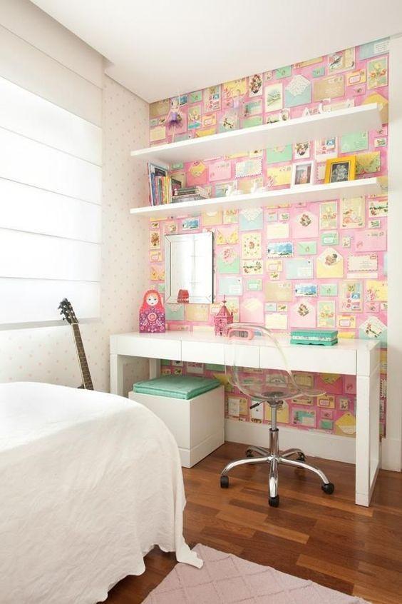 Cadeira giratória para quarto pequeno
