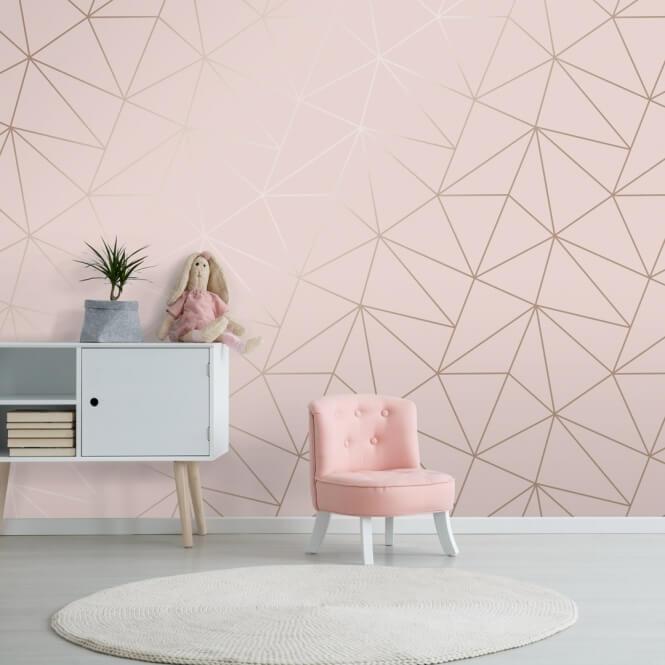 Escolha um lindo papel de parede para seu quarto