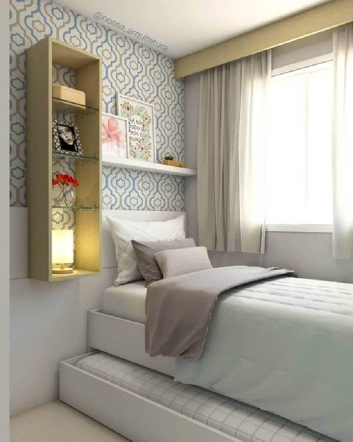 cama box conjugada solteiro Foto Dicas Decor