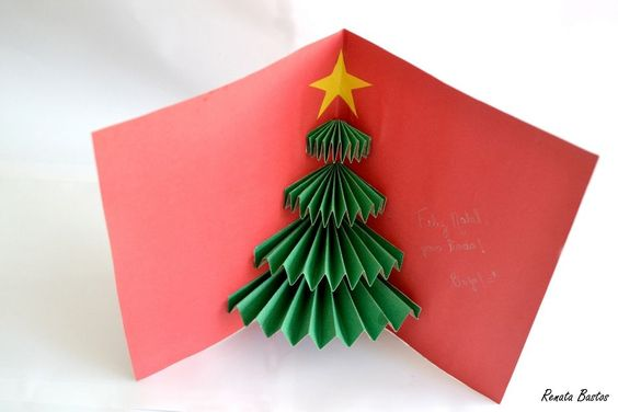 christmas card - 3d christmas card