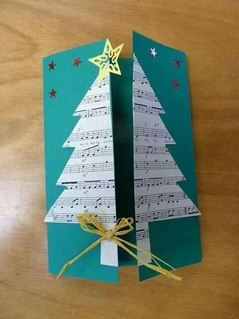 cartão de natal - cartão com abertura dupla