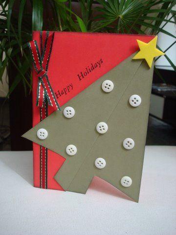 cartão de natal - cartão com formato diferente