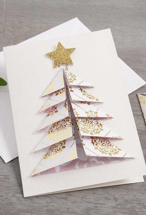 christmas card - white christmas card