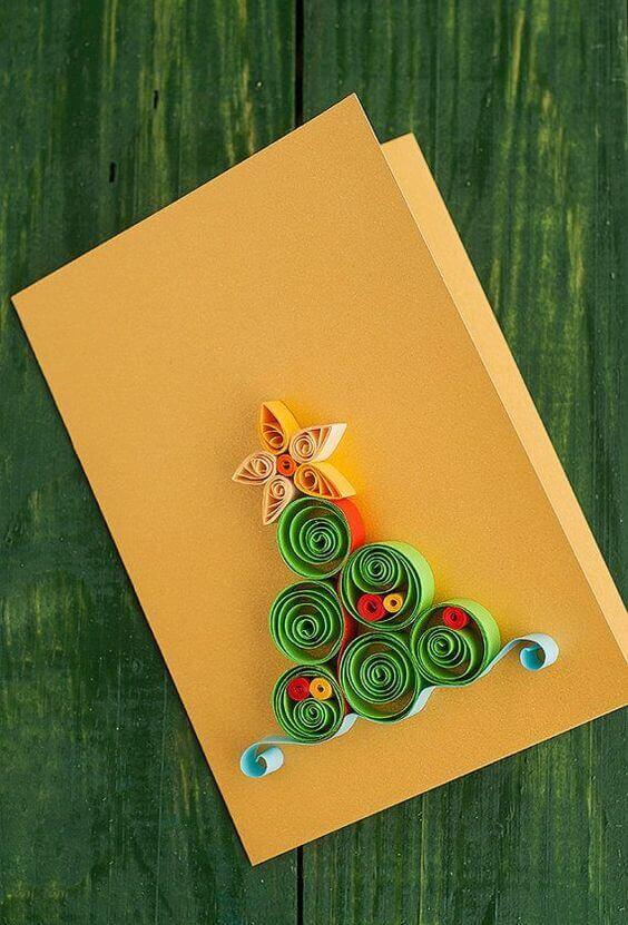 cartão de natal - cartão de natal colorido