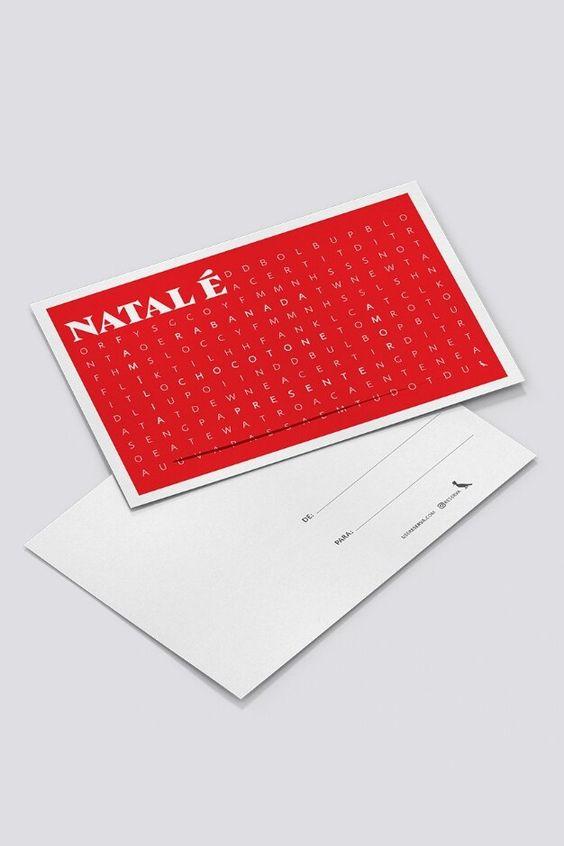 cartão de natal - cartão de natal com frases