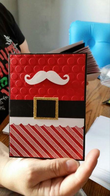 christmas card - christmas card from santa claus