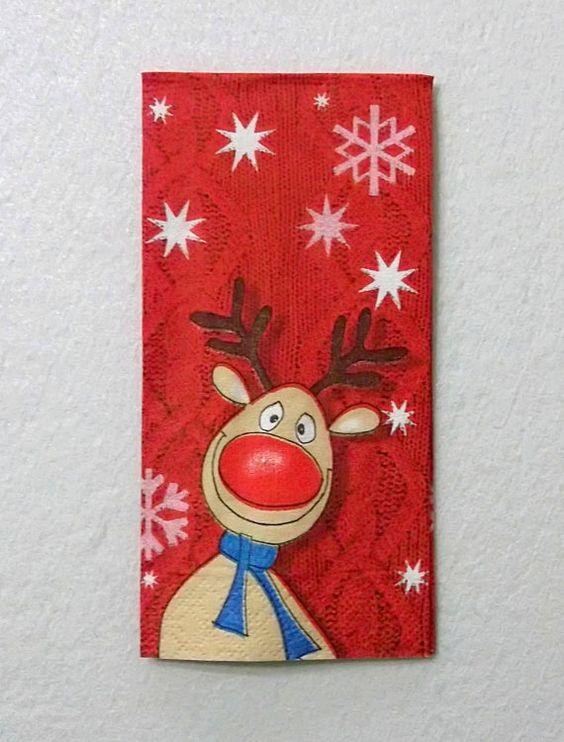 christmas card - red christmas card