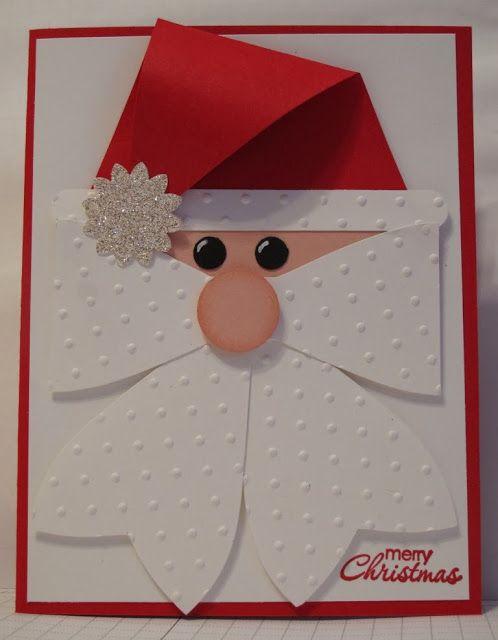 cartão de natal - cartão papai noel