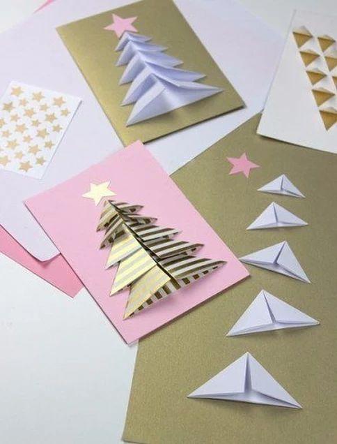 cartão de natal - cartões decorados coloridos