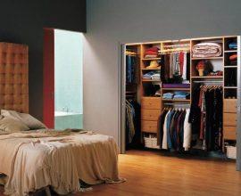 closet aberto - closet aberto embutido - Decorando Tudo