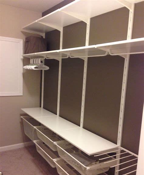 closet aberto - closet simples com gavetas de metal
