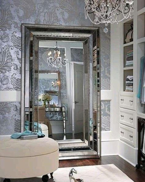 closet feminino de luxo