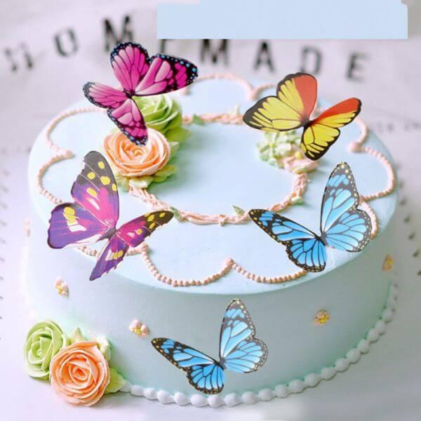 Como fazer borboleta de papel coloridas e lindas