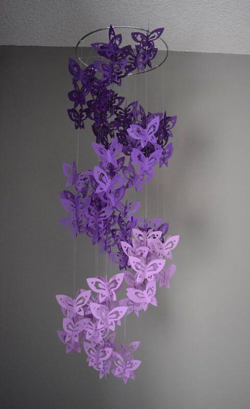borboletas e papel