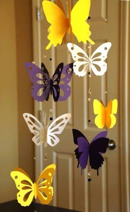 Como fazer borboletas de papel é simples e prático