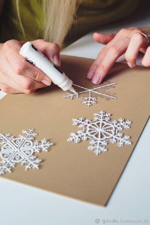 como fazer enfeites para árvore de natal Foto Pinterest