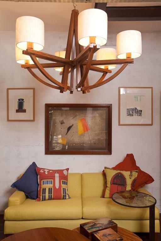 cor amarela - sofá amarelo simples