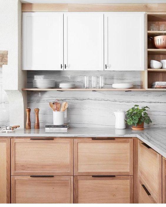 Cozinha modulada estilo escandinavo