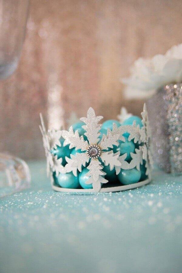 decoração de festa da frozen Foto Kara's Party Ideas