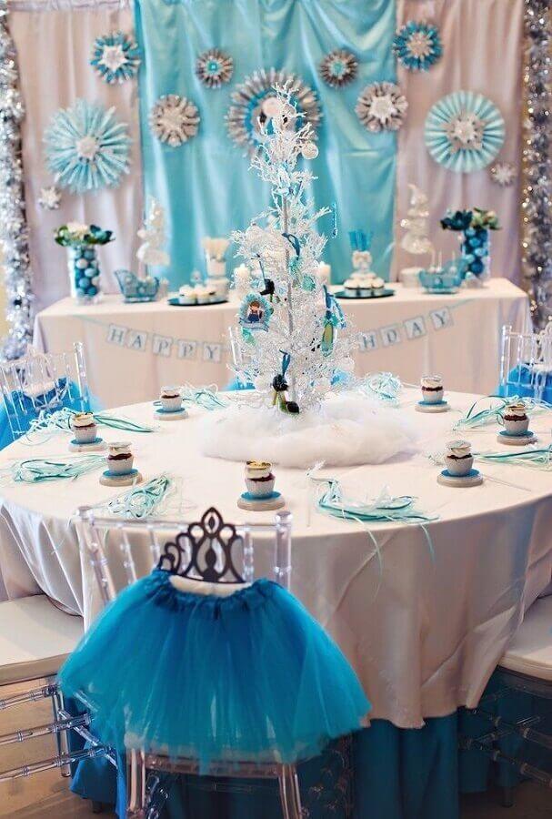 decoração de festa da frozen Foto Pinterest