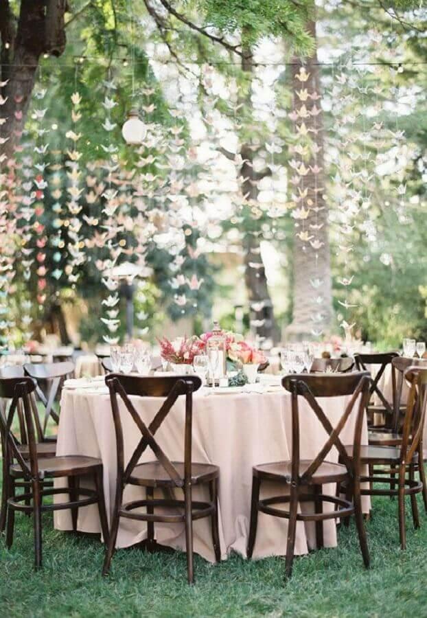 decoração de festa de casamento no campo Foto Wedding Decor Idea