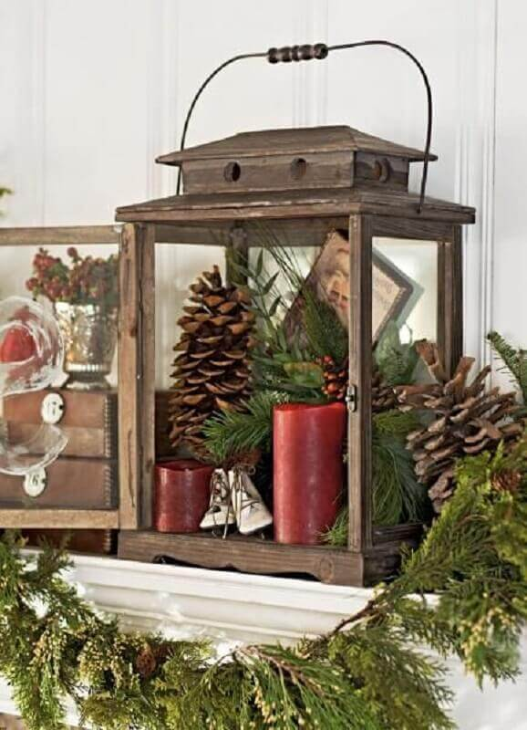 Christmas decoration with Moroccan lanterns Foto Midwest Living