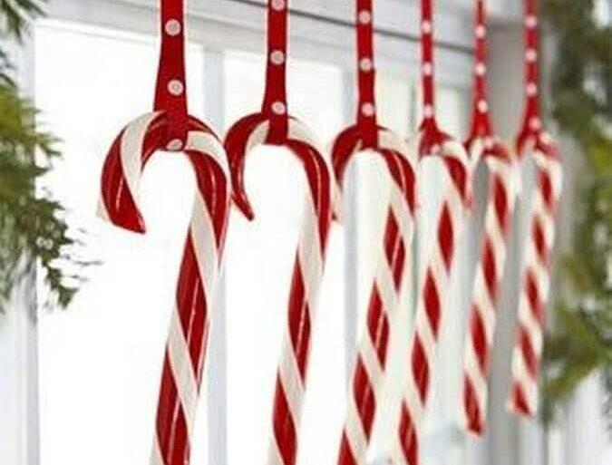 decoração natalina simples Foto HomeKlondike