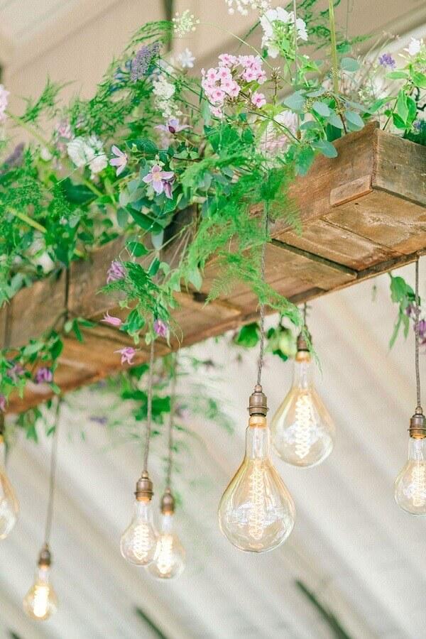 decoração rústica de casamento no campo Foto Rock My Wedding