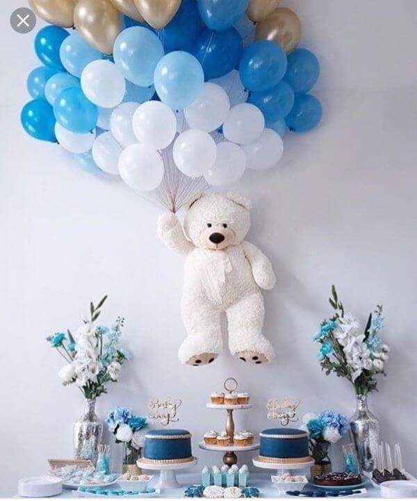 Decoração de festa simples para aniversário
