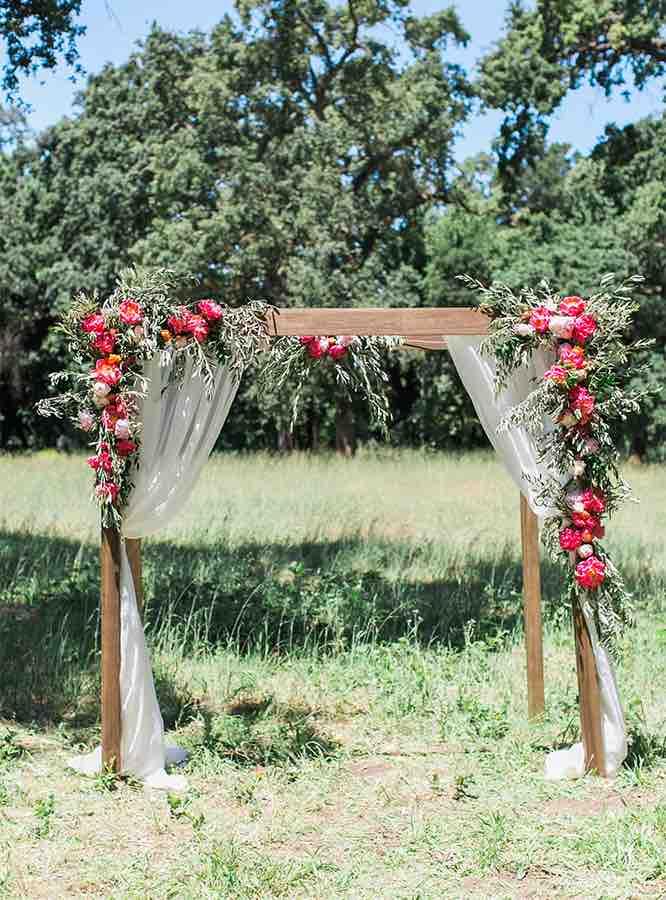 Decoração de festa de casamento simples e barato