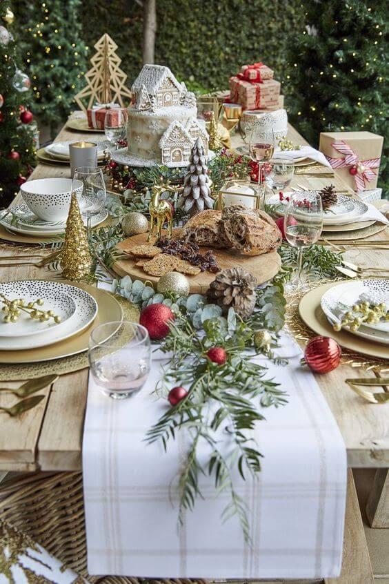 mesa de natal completa