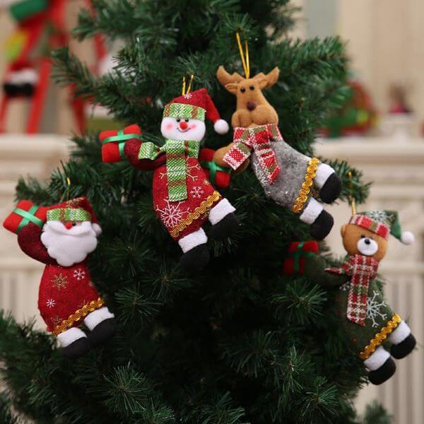 Enfeite para árvore de natal do papai noel