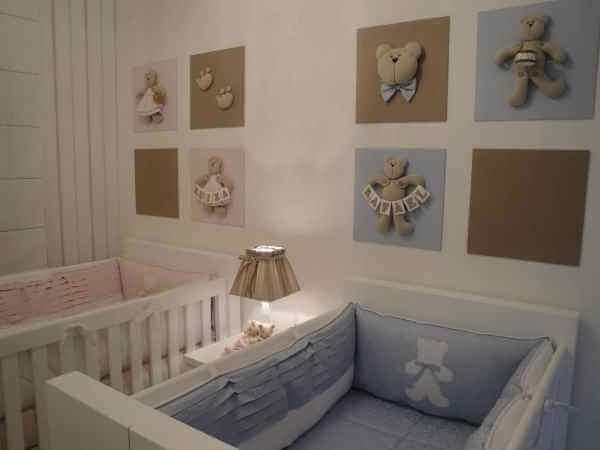 Enfeites para quarto de bebê unissex