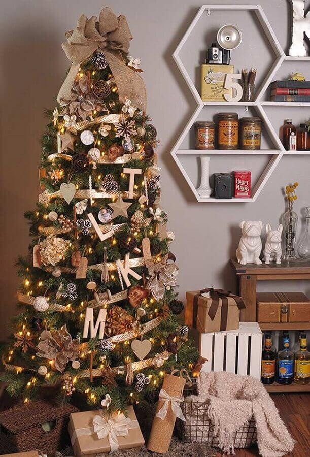 enfeites para árvore de natal Foto Pinterest