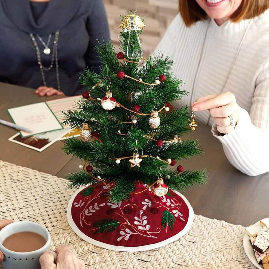 enfeites para árvore de natal pequena Foto Hallmark