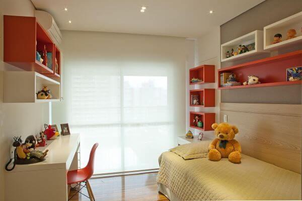Nichos para colocar os enfeites para quarto infantil