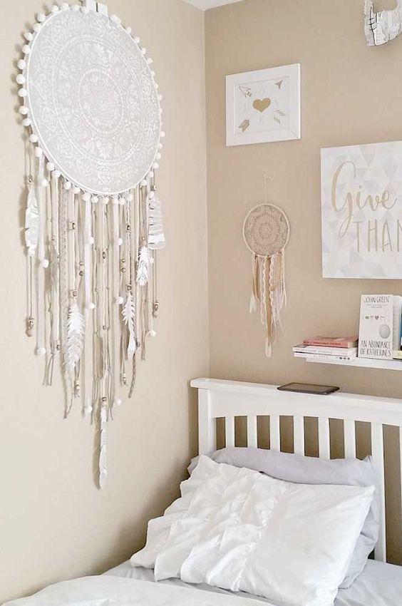 apanhador de sonhos é perfeito para decorar o quarto