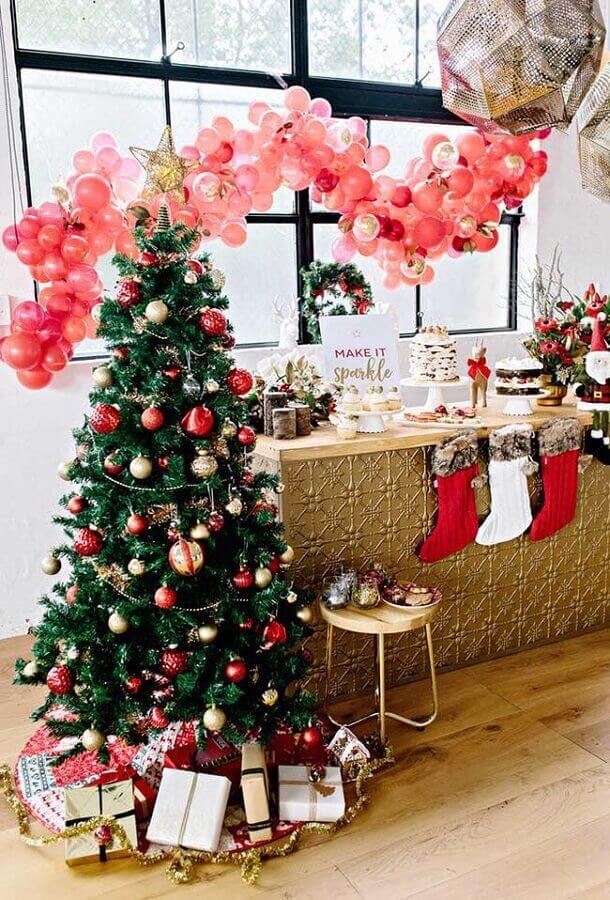 enfeites tradicionais para árvore de natal Foto Party With Lenzo