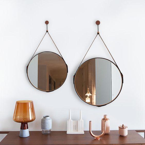 espelho adnet - aparador com espelhos