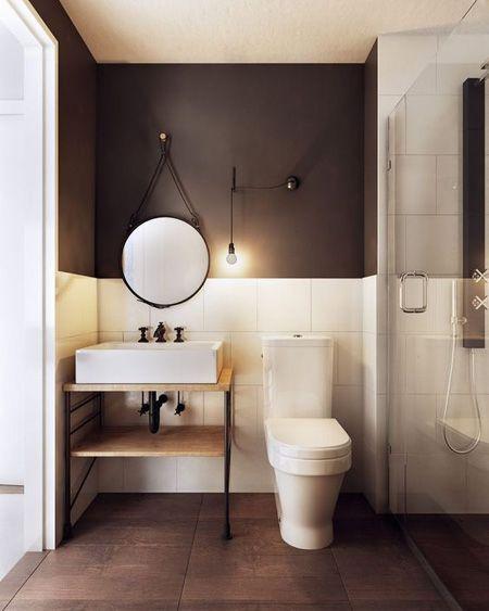 espelho adnet - banheiro pequeno com pia pequena