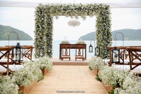 Flores para casamento com mosquitinhos