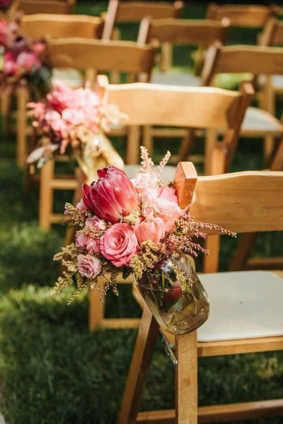 Flores para casamento com protea