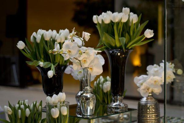 Flores para casamento clássico