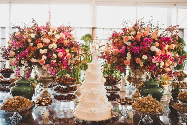Flores para casamento na primavera